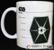 Star Wars - Tie Fighter Sketch (Official Merchandise) (Кружка)